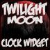 Twilight Moon Clock Widget