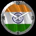 India flag Analog Clock