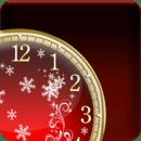 冬季梦幻时钟小工具
