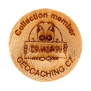Czech Wood Geocoin