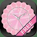 [免费]可爱QLOCK LWP的浅粉红色