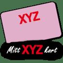 Mitt XYZ-kort
