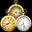 Old Clock Widget 3x3