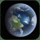 3D地球全景动态壁纸