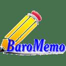 BaroMemo free(Easy Quick Memo)
