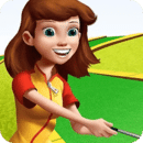 卡通高尔夫球