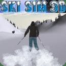 雪山极限滑雪