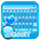 SlideIT keyboard twitter skin