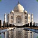 Taj Mahal Reflect In Water