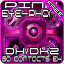 Pink DX2 GO Contacts