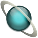 Space Uranus sticker FREE