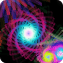 Fleurescent Spirals Lite