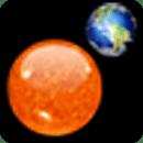 Solar System Clock Widget