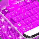 键盘皮肤紫