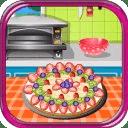 美味的水果比萨烹饪游戏