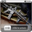 Guns Lock Screen Wallpaper
