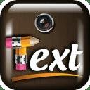 应用程序添加文本照片