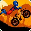 蜘蛛侠自行车运动员