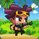 士兵在战役 - 丛林游戏