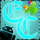 GOWidget Theme ElecCyan-Free