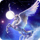 Fantasy Unicorn Live Wallpaper