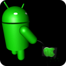 Android Pee 3D Live Wallpaper