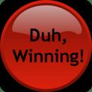 Charlie Sheen Winning Button