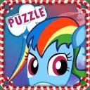 Rainy Dash Pony Game Puzzle