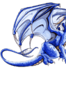 Dragão azul HD Widget