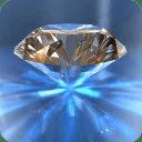 钻石结婚戒指试戴