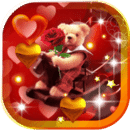 Valentines Teddy Wishes