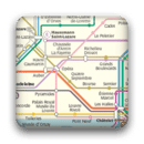 Paris subway map