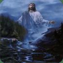 Jesus Waterfall Live Wallpaper