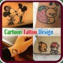 Cartoon Tattoo Design