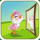 Angel Bird Mirror