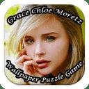 Grace Chloe Moretz Puzzle Game