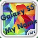 Galaxy S5 My Name Wallpaper
