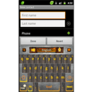 GO Keyboard Industrial theme