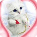 Blue Eyes Cat With Arrow Live
