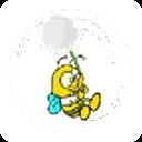 Bee in a bubble - Bubble bee