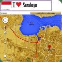 Surabaya map