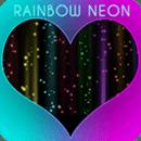 彩虹霓虹键盘