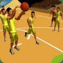 篮球比赛拍摄和扣篮