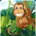 猴子割绳子