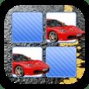 车和飞机交通工具拼图游戏