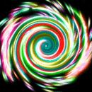 彩色炫光 Glow Spin Art