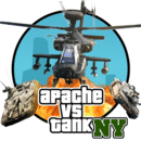 纽约坦克大战 GTA Apache vs Tank in New York