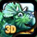 恐龙走路好玩的3D恐龙益智游戏为男孩和女孩的史前动物