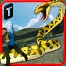 愤怒的蟒蛇3D 无限金币版