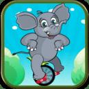 骑车小象 Biker Elephant